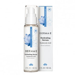 DERMA E HYDRATING SERUM WITH HYALURONIC ACID 2 OZ