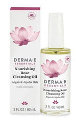 Derma E Nourishing Rose Cleansing Oil 2 Oz