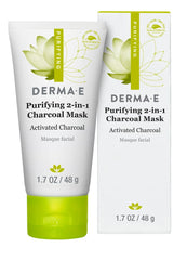Derma E Purifying 2-In-1 Charcoal Mask 1.7 oz