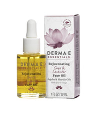 Derma E Rejuvenating Sage & Lavender Face Oil 1 Oz