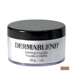 DERMABLEND LOOSE SETTING POWDER WARM SAFFRON 1 OZ.