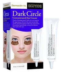 DERMACTIN TS DARK CIRCLE CONCENTRATED EYE CREAM 1 OZ