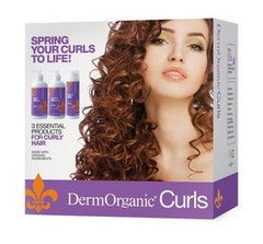 DermOrganic Curls Kit 3 Piece