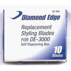 DIAMOND EDGE STYLING RAZOR BLADES 10 CT.