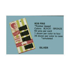 DIANE BOB PINS BLACK (C)