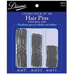 DIANE HAIR PINS COMBO PACK 100 CT