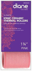 Diane Ionic Ceramic Thermal Rollers 1 3/4 in Pink
