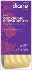 Diane Ionic Ceramic Thermal Rollers 2 1/2 in Yellow