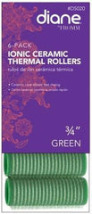 Diane Ionic Ceramic Thermal Rollers 3/4 in Green