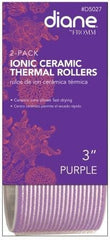 Diane Ionic Ceramic Thermal Rollers 3 in Purple