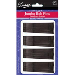 DIANE JUMBO BOB PINS-BLACK 40 CT