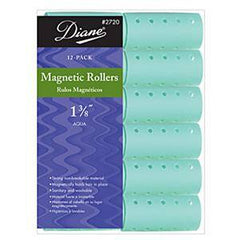 DIANE MAGNETIC ROLLERS AQUA 1 3/8 IN.-12CT.