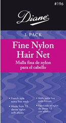 Diane Nylon Hair Net-White