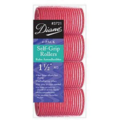 DIANE SELF GRIP VENT RED 1 1/2 IN.-4CT.