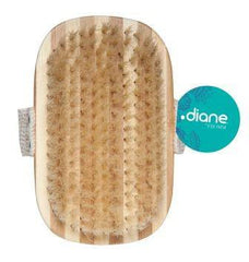 Diane Strap Bath Brush-100% Boar Bristle 4 1/4 in