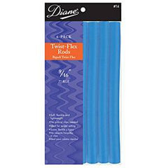 DIANE TWIST-FLEX RODS BLUE 9/16 IN.-6CT.