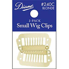DIANE WIG CLIPS-SMALL BLONDE 2-PACK