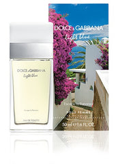 Dolce and Gabbana Women's Light Blue Escape to Panarea Eau De Toilette Spray 1.6 oz