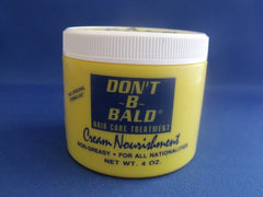 DONT B BALD CREAM/NOURISH 4 OZ