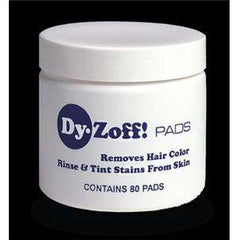 DY ZOFF HAIR COLOR REMOVER PADS 80CT