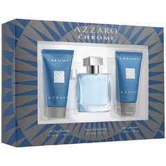 Azzaro Chrome Gift Set 3 Pc