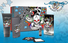 ED HARDY Born Wild Men`s Gift Set-5pc