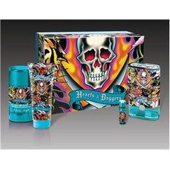 ED HARDY MEN`S HEART AND DAGGERS SET SPRING SET 4 PC