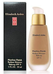 ELIZABETH ARDEN FLAWLESS FINISH RADIANCE MOISTURE MAKE UP CAPPUCCINO D