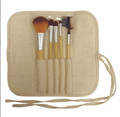 FANTA SEA 5 PIECE BAMBOO COSMETICS BRUSH SET