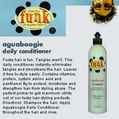 FUNK AQUABOOGIE DAILY CONDITIONER 12 OZ D 02102