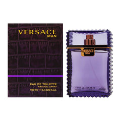 GIANNI VERSACE MAN MEN`S EAU DE TOILETTE SPRAY 3.4 OZ.
