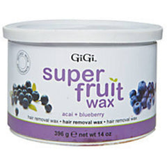 GIGI SUPER FRUIT WAX ACAI AND BLUEBERRY 14 OZ