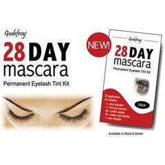 GODEFROY 28 DAY MASCARA-BROWN 25 APPLICATIONS 702