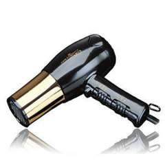 GOLD `N HOT HAIR DRYER 1875 WATTS EURO WITH GOLD BARREL GH8135
