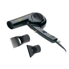 GOLD `N HOT HAIR DRYER 1875 WATTS WITH STYLING PIK DUAL VOLTAGE