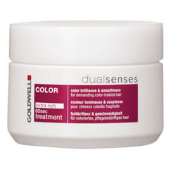 GOLDWELL DUAL SENSES COLOR EXTRA RICH 60 SEC TREATMENT 5.1 OZ