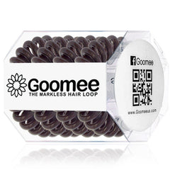 Goomee Markless Hair Loop-Coco Brown 4 Pack
