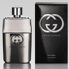 GUCCI GUILTY MEN`S EAU DE TOILETTE SPRAY 3.0 OZ.