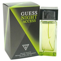 Guess Night Access Men's Eau De Toilette Spray 3.4 Oz