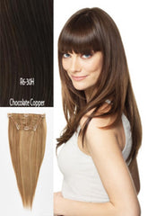HAIR U WEAR DANCING WITH THE STARS GO!GO! GIRL R6/30H CHOCOLATE COPPER