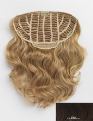 HAIR U WEAR HAIRDO 20 INCH CLIP-IN TOTALLY STYABLE HAIR EXTENSIONS R10 CHESTNUT