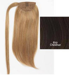 HAIR U WEAR SIMPLY STRAIGHT PONY R10 CHESTNUT