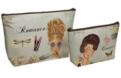 HARRY KOENIG ESSENCE OF ROMANCE COSMETIC BAG