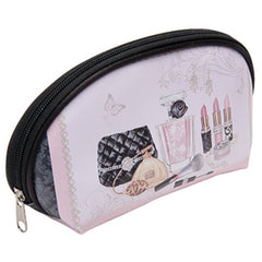 HARRY KOENIG LARGE PRINT COSMETIC BAG