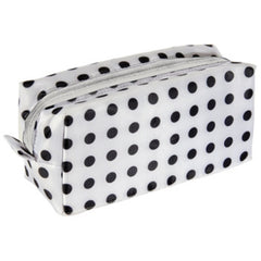 HARRY KOENIG TRAVEL COSMTIC BAG POLKA DOT-SMALL