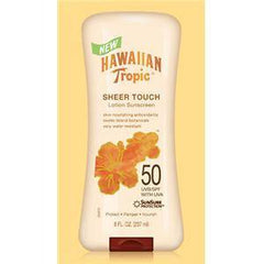 HAWAIIAN TROPIC SHEER TOUCH LOTION SPF 50 8 OZ