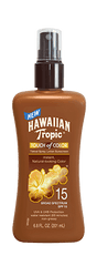 Hawaiian Tropic Touch of Color Lotion Pump SPF15 6.8 oz