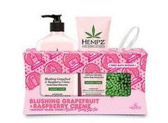 Hempz Blushing Grapefruit + Raspberry Creme Holiday Gift Set
