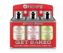 Hempz Get Baked Herbal Whipped Holiday Trio