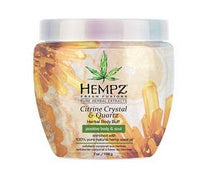 Hempz Citrine Crystal Body Buff 7 oz